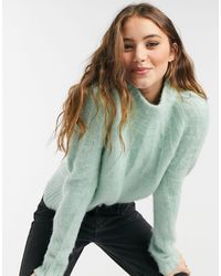 ASOS Jumper With Stitch Yoke Detail - Multicolour