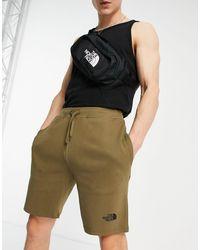 The North Face Pantaloncini kaki con stampa grafica - Verde