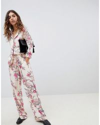 B.Young - Floral Printed Trousers - Lyst