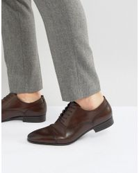 ALDO - Saylian Oxford Toe Cap Shoes - Lyst