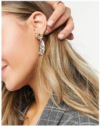 Pilgrim Rustic Shape Earrings - Multicolour