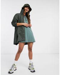 Rains Зеленая Водонепроницаемая Куртка -зеленый