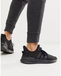 adidas Originals – U-Path – Laufschuhe - Schwarz