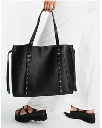 TOPSHOP Tote Bag - Black