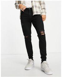 Jack & Jones Intelligence Pete - Smaltoelopende Jeans - Zwart