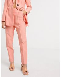ASOS Tapered Suit Trousers - Multicolour