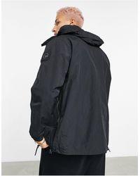 Marshall Artist Acier Longline Technical Jacket - Black