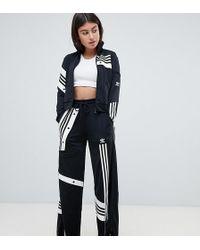 adidas Originals - X Danielle Cathari Deconstructed Track Trousers In Black - Lyst