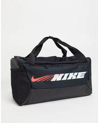 Nike Logo Duffel Bag - Black