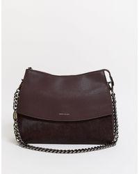 Karen Millen Cross Body Bag - Purple
