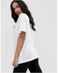 Nike - Mini Swoosh Oversized Boyfriend T-shirt - Lyst