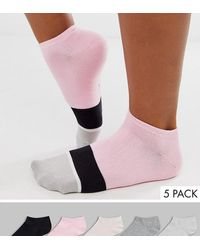ALDO Glaradith Striped Ankle Socks Multipack - Pink