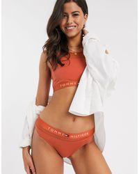 Tommy Hilfiger Оранжевые Трусы С Логотипом -оранжевый - Многоцветный