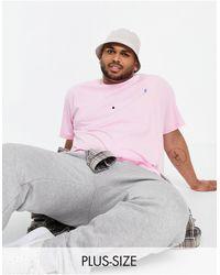 Polo Ralph Lauren Camiseta rosa con jugador