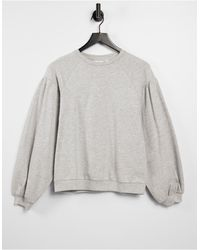 ONLY – Sweatshirt - Grau