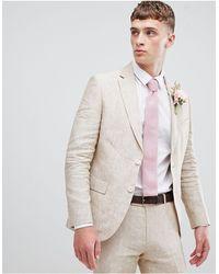 Moss Bros Moss London Skinny Suit Jacket - Multicolor