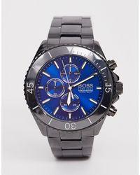 BOSS by Hugo Boss 1513743 Ocean Edition Chrono Bracelet Watch - Black