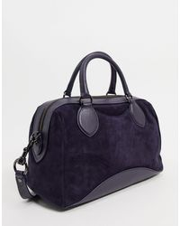 Rebecca Minkoff Pippa Suede Duffle Bag - Blue