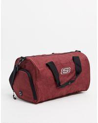 Skechers Бордовая Сумка -красный