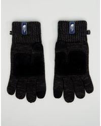 The North Face Черные Перчатки Salty Dog-черный