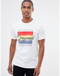 Jack & Jones - Jack And Jones Originals Logo T-shirt - Lyst