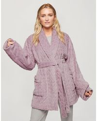 Miss Selfridge Supersoft Robe - Pink