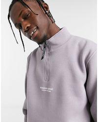 Marshall Artist Siren Half-zip Sweatshirt - Purple