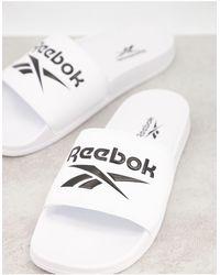 Reebok Classics Sliders - White