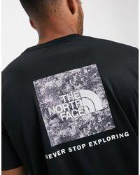 The North Face - Черная Футболка С Принтом -черный - Lyst