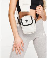 adidas Originals Logo Across Body Bag - White