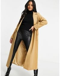 Never Fully Dressed Tailored Maxi Jacket - Natural