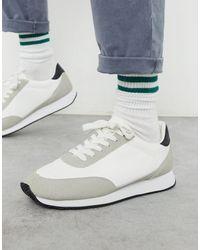 ASOS Retro Sneakers - White