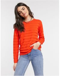 B.Young Textured Stripe Jumper