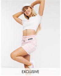 Ellesse Minifalda rosa exclusiva en ASOS