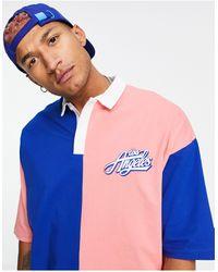 ASOS - Oversized Polo T-shirt - Lyst