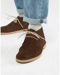 ASOS Desert boots en daim - Marron