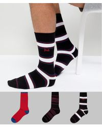 Pringle of Scotland - Rosewell Socks 3 Pack - Lyst