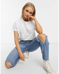 Converse All Star Relaxed Fit T-shirt - White