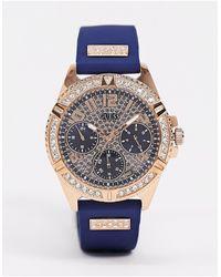 Guess – Armbanduhr - Blau