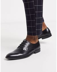 ASOS Vegan Derby Shoes - Black