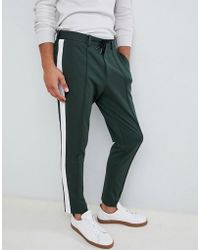 SELECTED - Track Stripe Trouser - Lyst