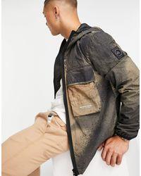 Marshall Artist Mshl Lab Camo Jacket - Multicolour