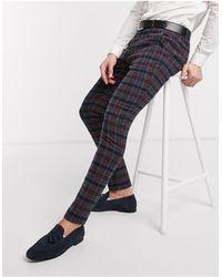 ASOS - Pantalones elegantes muy ajustados - Lyst