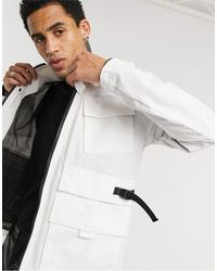 ASOS - Utility Jacket With Buckle Detail - Lyst