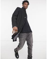 Tom Tailor Wool Coat - Black
