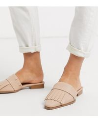 ASOS - Wide Fit Very Fringed Mules - Lyst
