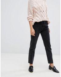 Vila Mom Jeans - Black