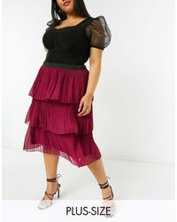 Simply Be Tiered Skirt