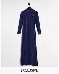 PUMA Icons 2.0 Fashion Dress - Blue