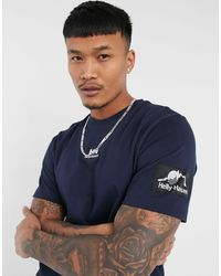 Helly Hansen Yu Patched T-shirt - Blue